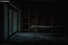 Prypeć - pomieszczenie szpitalne