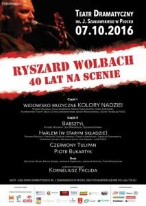Plakat Ryszard Wolbach