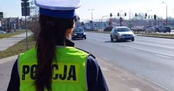 policjantka na drodze