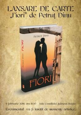 Afis Lansare carte Fiori