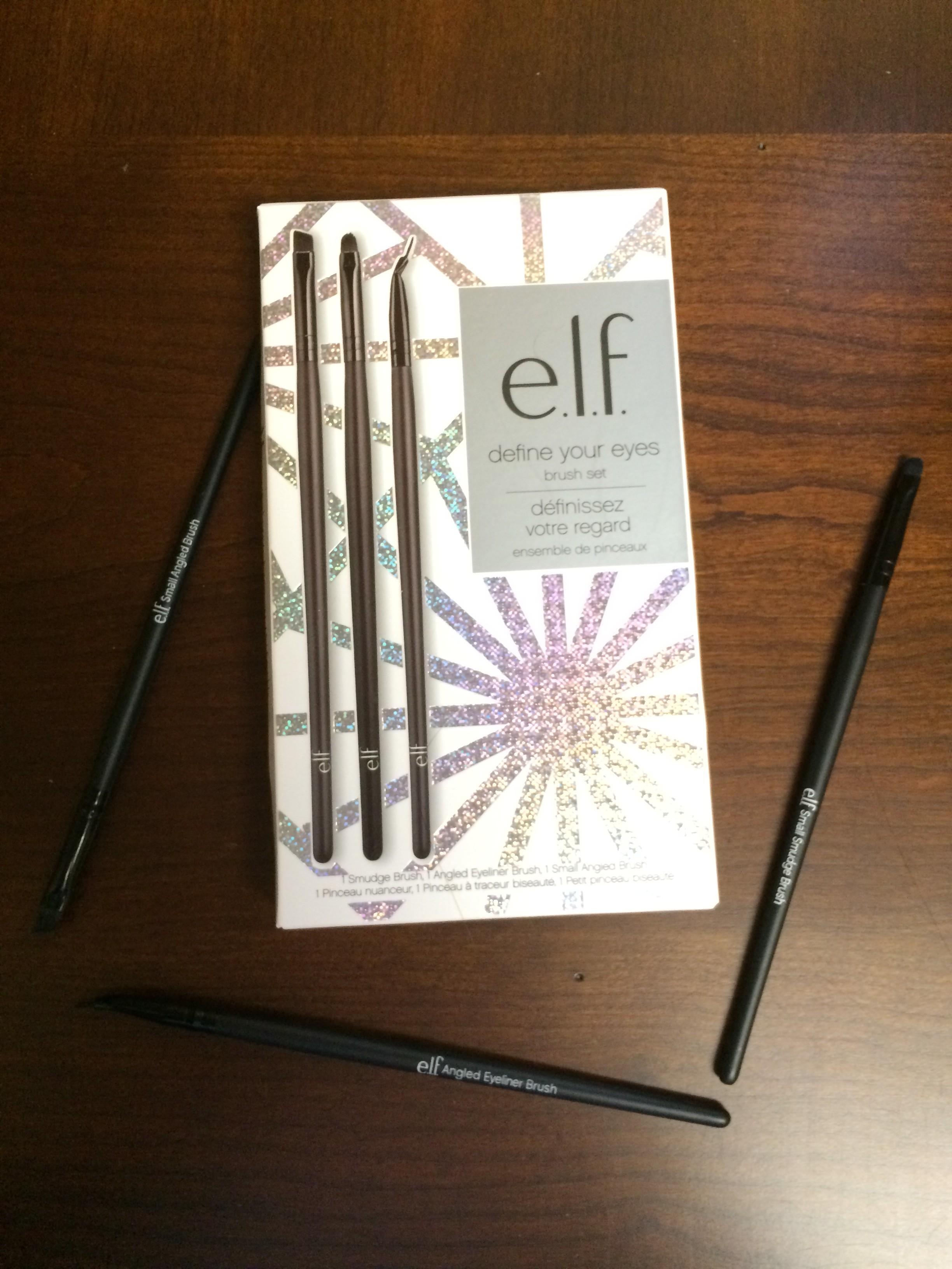 e.l.f. define your eyes brush set