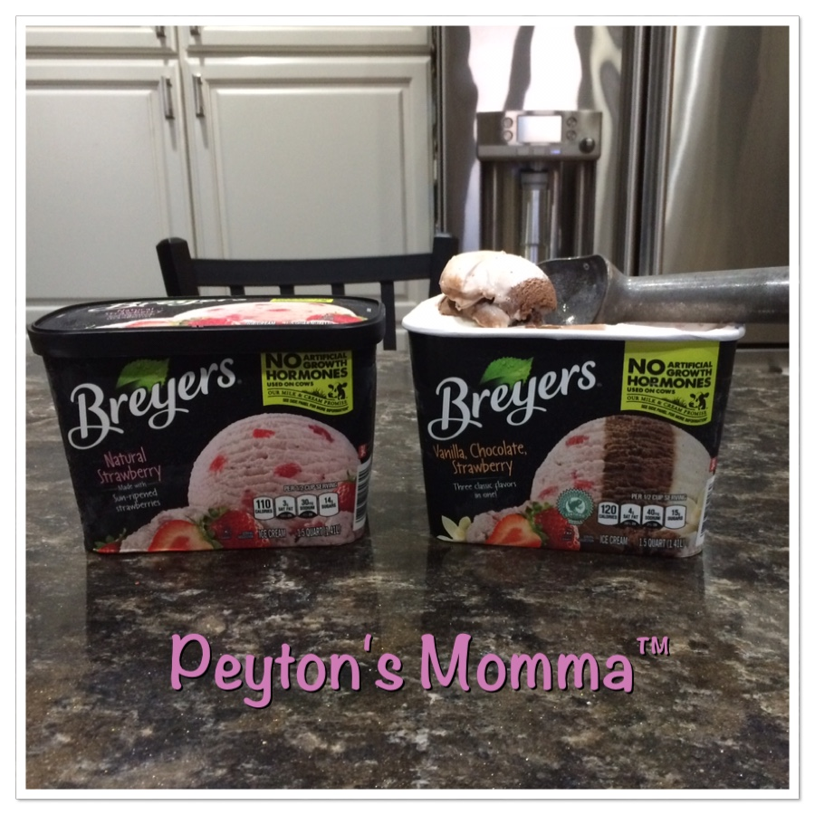 Breyers All Natural Ice Cream