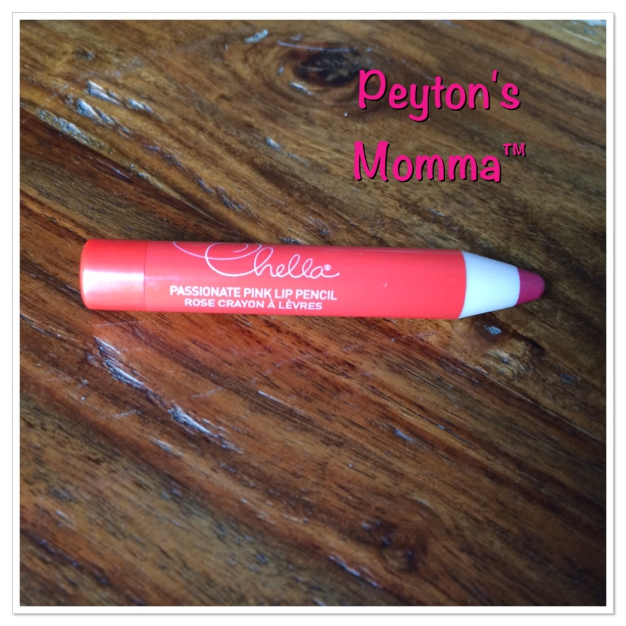 Chella Passionate Pink Lip Crayon