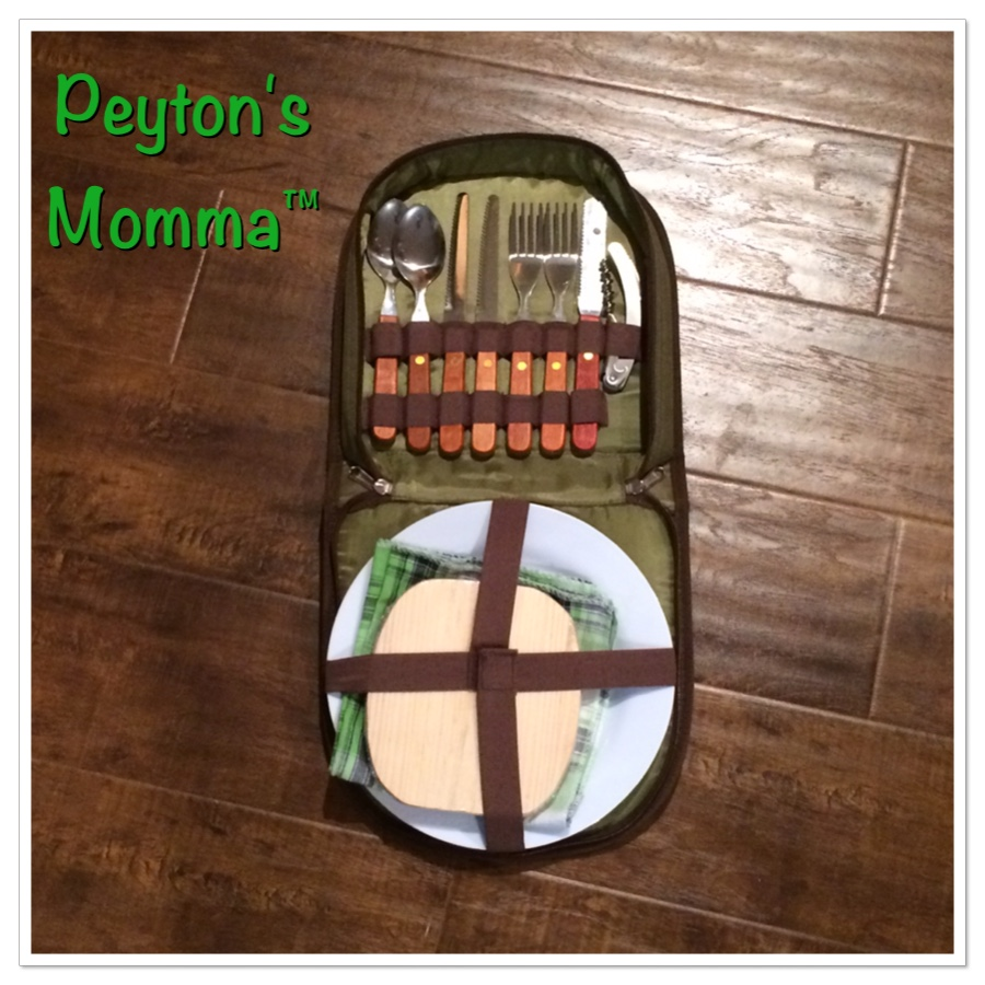 Bright Outdoors Picnic Set for 2