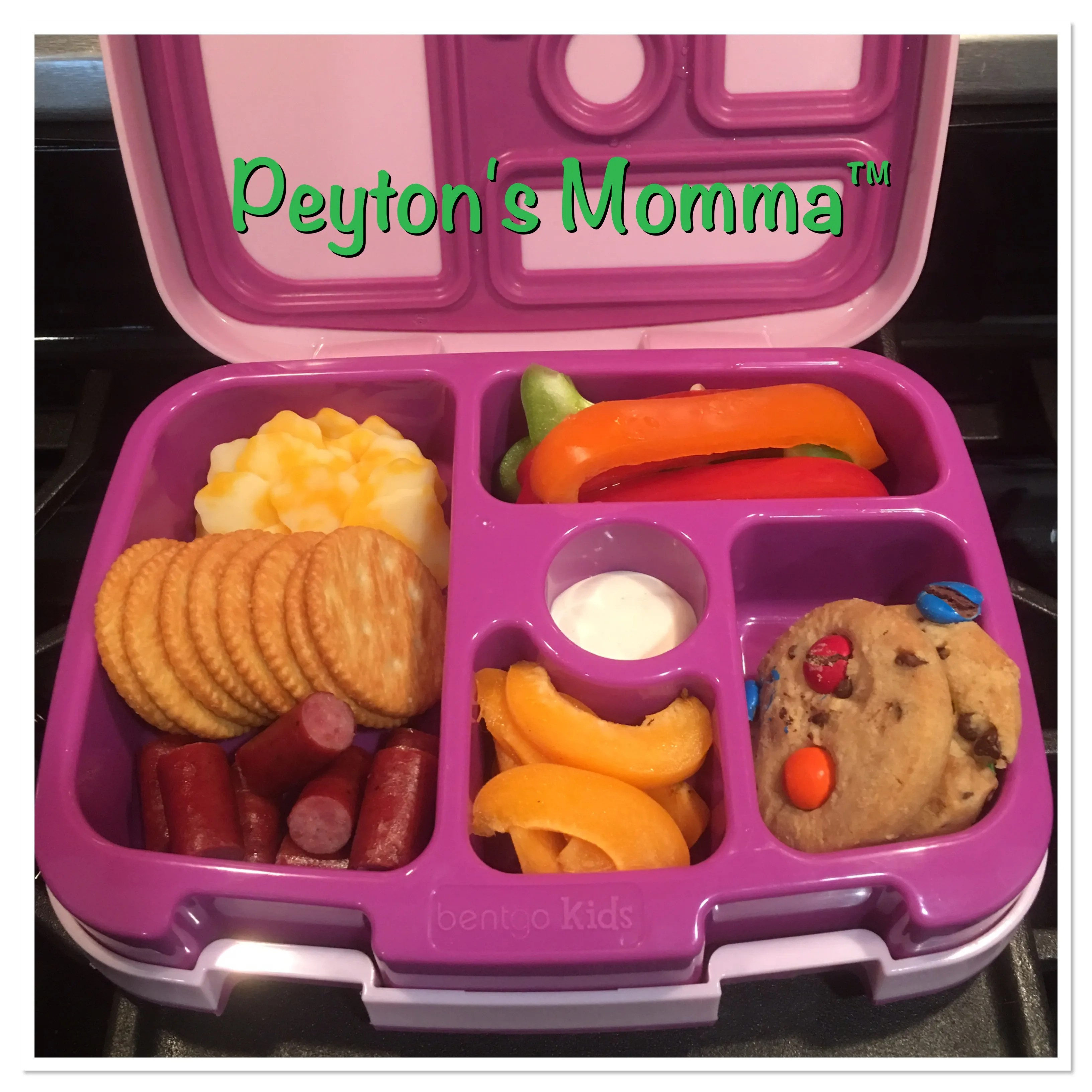 Cheese, Cracker and Beef Bento  Box Lunch