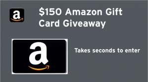 Dropprice $150 Amazon Gift Card Giveaway