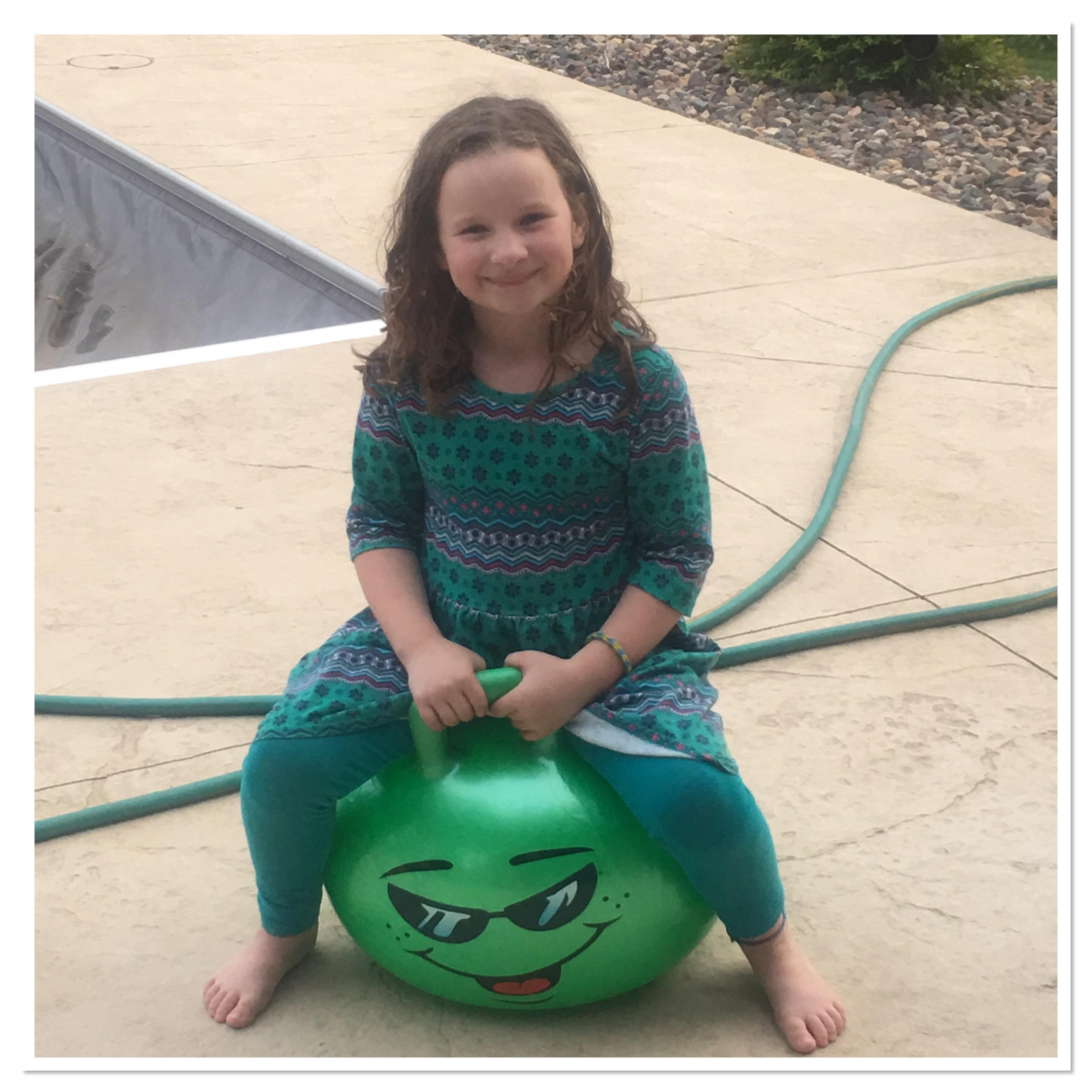 Child Hopper Ball