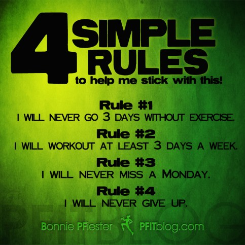 4 simple rules