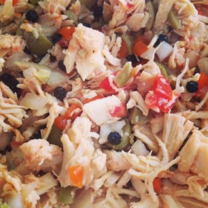 chicken peppercorn salad