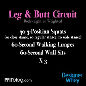 Leg and Butt Circuit