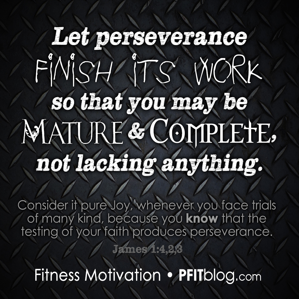 want to give up the key to perseverance pfitblog