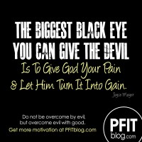 How to Give the Devil a Black Eye