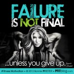 failure is not final