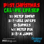 DW post christmas workout