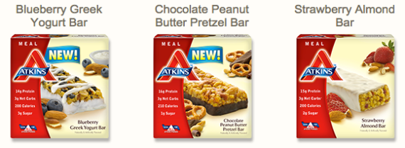Atkins Advantage bars