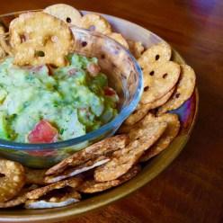 creamy guacamole dip
