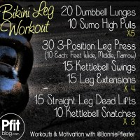 Bikini Leg Sculpting Workout