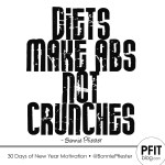 Diets make abs