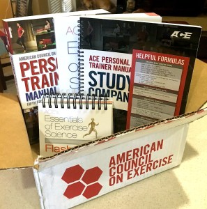 ace personal training materials