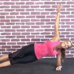side plank pulse