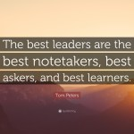 leaders learn