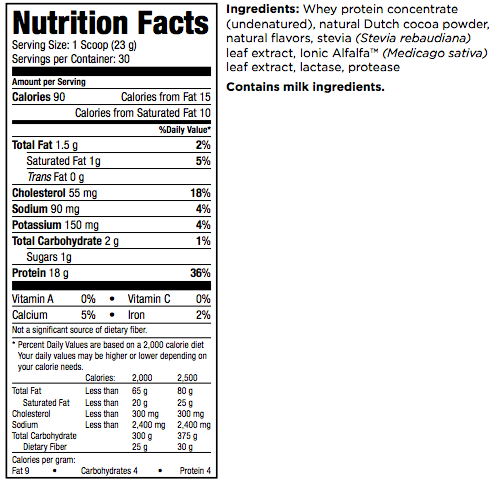 IsaPro Protein Shake