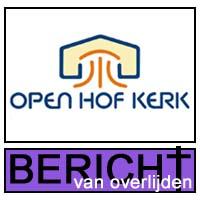 icoon Bericht van Overlijden_Open Hof Kerk