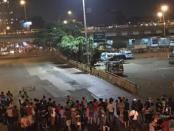 Situasi di Terminal Kampung Melayu beberapa saat setelah terjadi ledakan