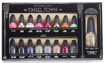 Sephora OPI Tinsel Town Nail Polish Collector's is a great holiday gift idea.