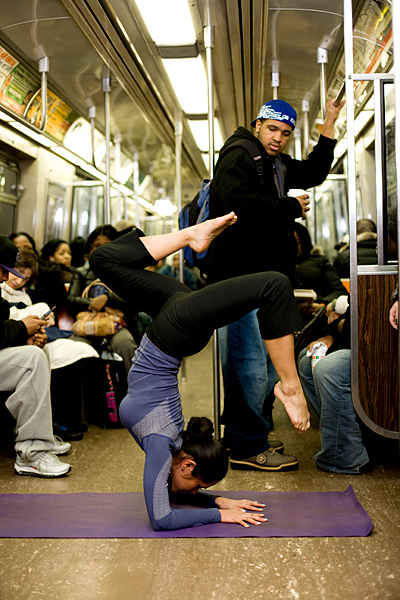 subway yoga