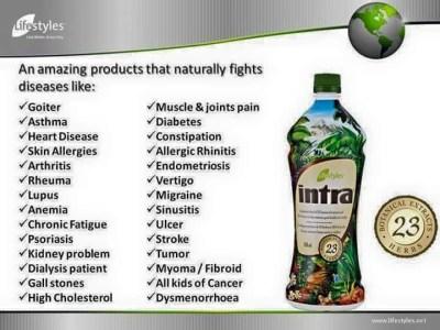 Lifestyles Intra 23 Herbal Juice 950ml   Lazada PH