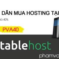 Hướng dẫn mua hosting tại Stablehost