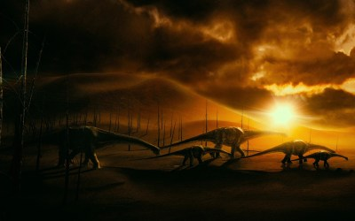 Android Wallpaper: Walking with Dinosaurs