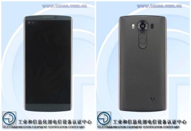 LG V10 TENAA leak back