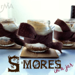 Easy S'Mores in A Baby food jar
