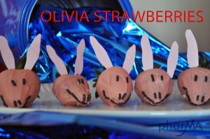Olivia the Pig Strawberries