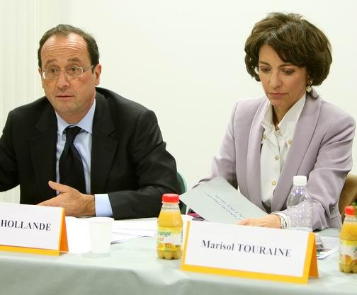 Marisol Touraine et François Hollande1