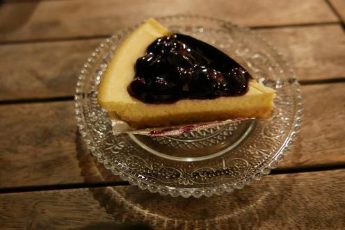 ベジタリアン・ブルーベリーケーキ