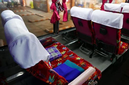 チェンマイ・バンコク夜行バス