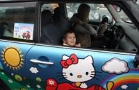 Особых детей прокатили на MINI