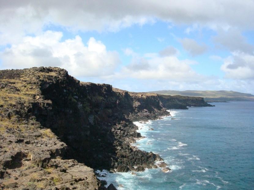 Easter Island coast