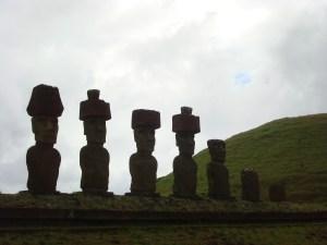 Moai at the Anakena