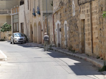 Gozo residential streets