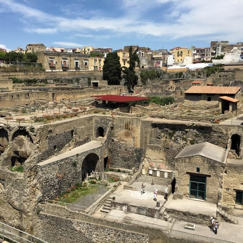 Herculaneum Ruins Naples