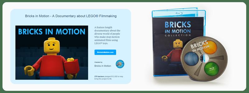 The Bricks in Motion Documentary Kickstarter