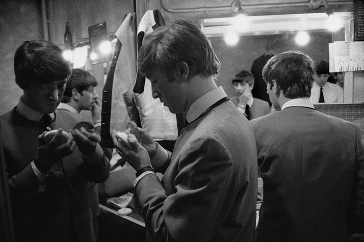 The Beatles first concert at the Empire. Liverpool. England. 1963.