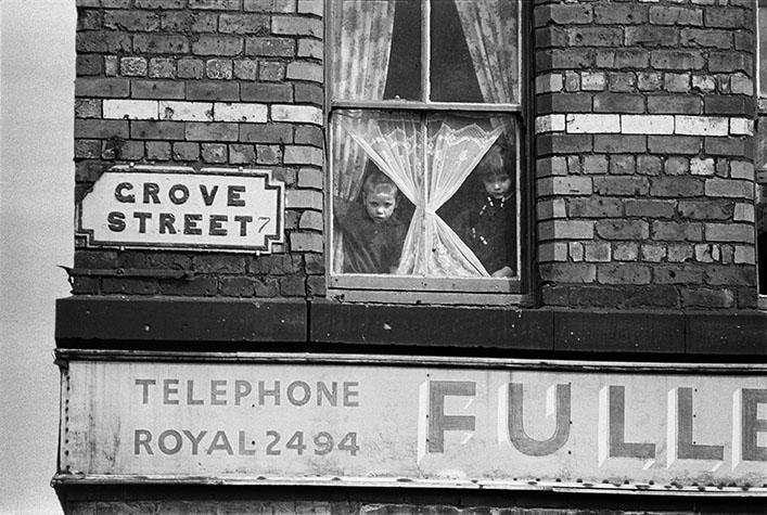 G.B. ENGLAND. Liverpool. Street signs. 1966.