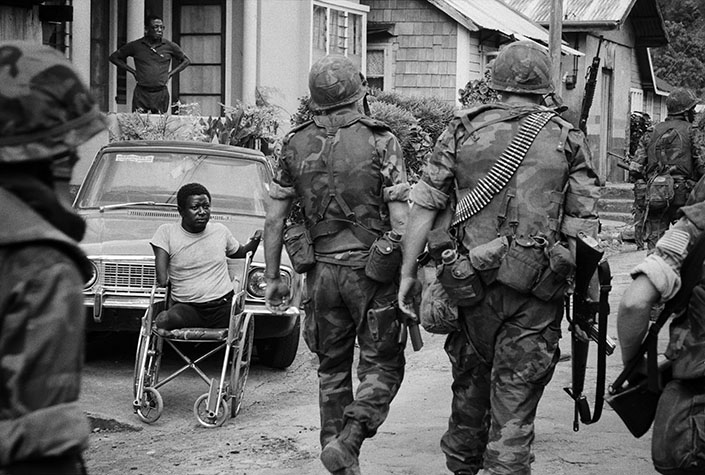 GRENADA. America's message was clear - any move toward true democracy would be met with maximum force. 1983