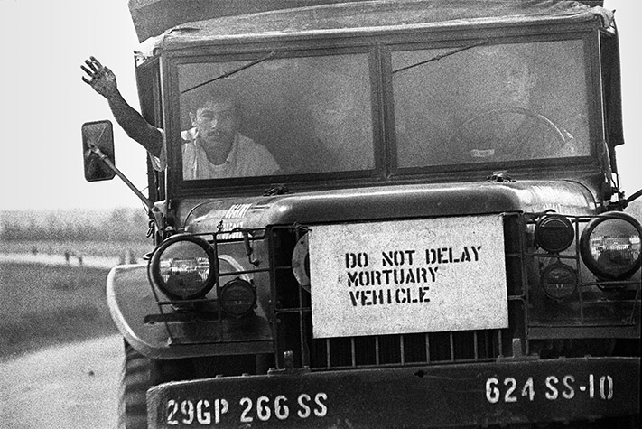 VIETNAM. Mortuary Vehicle. 1967