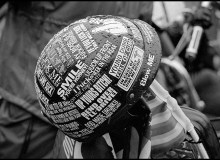 Memorial Day Weekend in Washington D.C where anti-Vietnam motorcycle gangs parade.